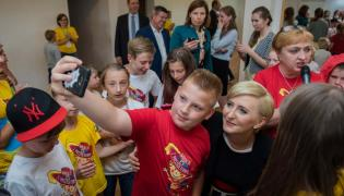 "Agata Kornhauser-Duda na ""Wakacjach z muszkieterami"""