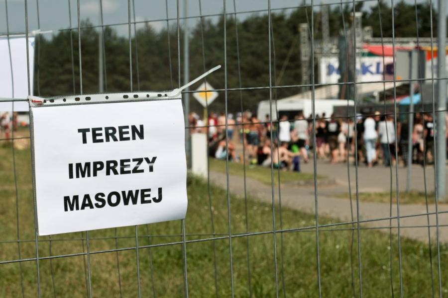 Przystanek Woodstock został w tym roku potraktowany jako impreza podwyższonego ryzyka / fot. Lech Majewski