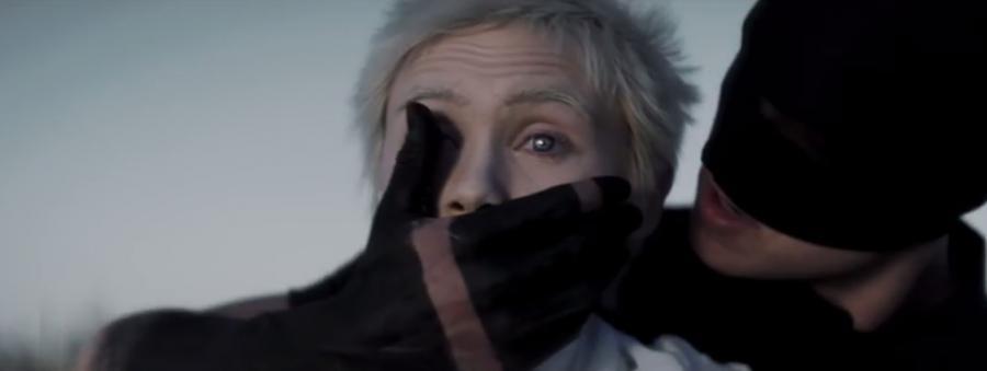Kadr z teledysku grupy Billy Talent