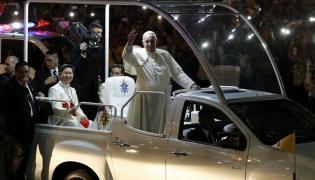 Papamobile papieża Franciszka