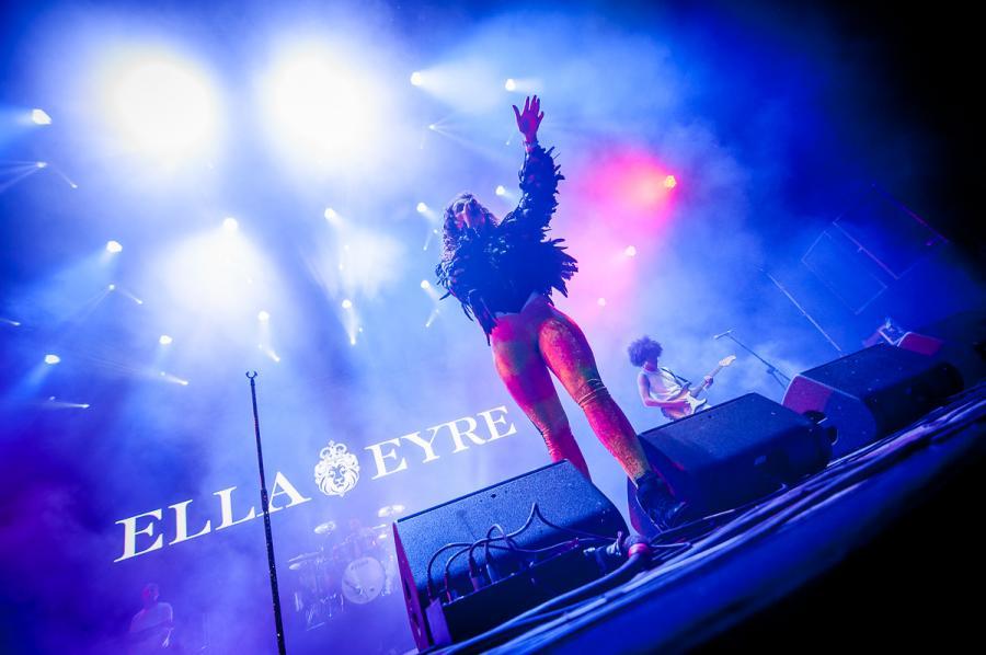 Ella Eyre na festiwalu Audioriver 2016 / fot. Audioriver