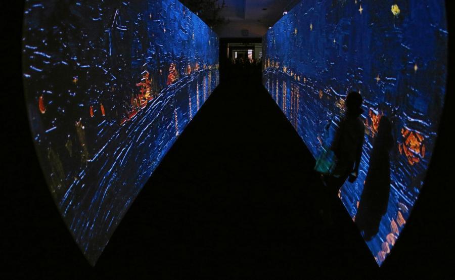 Wystawa o Van Goghu w Zabytkowym Dworcu Głównym