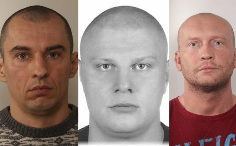 Policja Ujawnia Wizerunki Mężczyzn Poszukiwanych Po