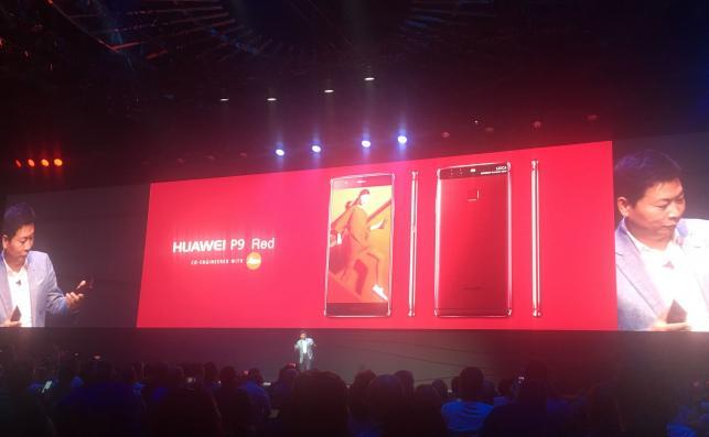 Huawei P9 Red