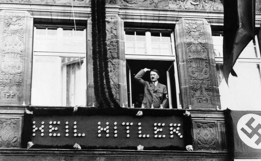Adolf Hitler w Norymberdze, w 1938 roku