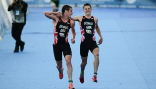 Alistair Brownlee i Jonathan Brownlee