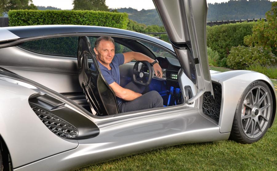 Kevin Czinger, założyciel i szef Divergent 3D
