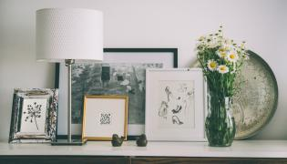 Obrazy w mieszkaniu