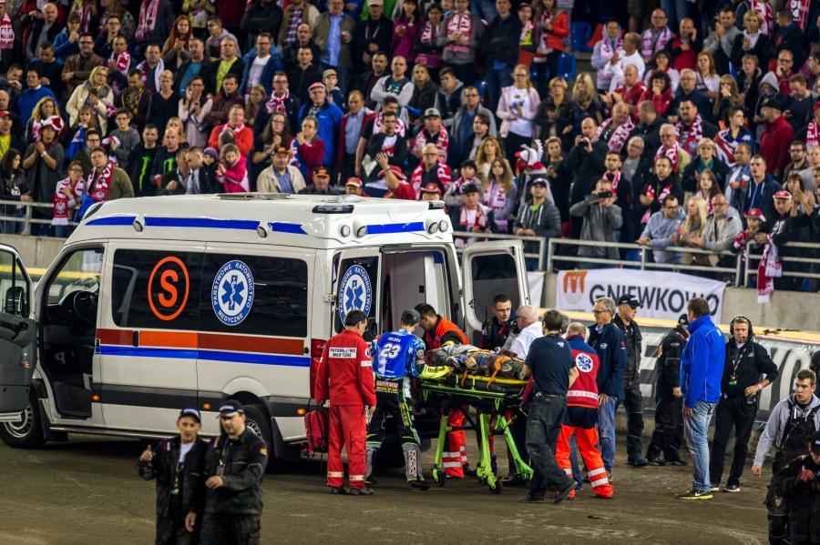 Jason Doyle roztrzaskał się na podczas żużlowego Grand Prix w Toruniu