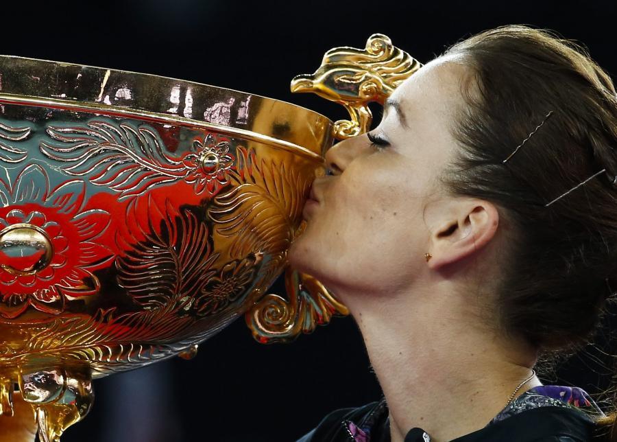 Triumf Agnieszki Radwańskiej w Pekinie