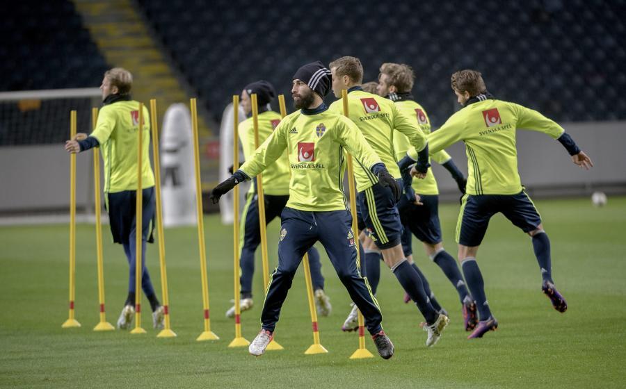 Piłkarze reprezentacji Szwecji