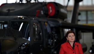 Premier Beata Szydło w Polskich Zakładach Lotniczych w Mielcu