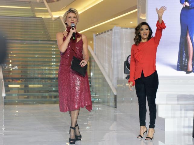 Eva Longoria i Magda Mołek