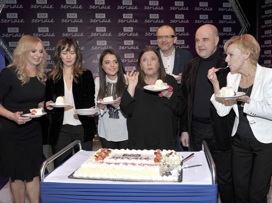 Jubileusz 55 lat pracy Marty Lipińskiej