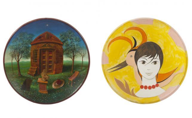 Malarstwo na ceramice: Henryk Waniek, Kazimierz Mikulski