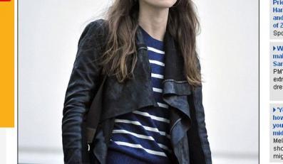 Luzacki styl a la Keira Knightley