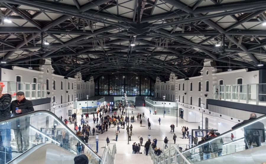 dworzec w Łodzi