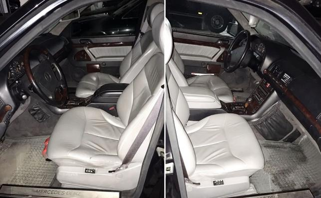 Mercedes S 600 pullman guard