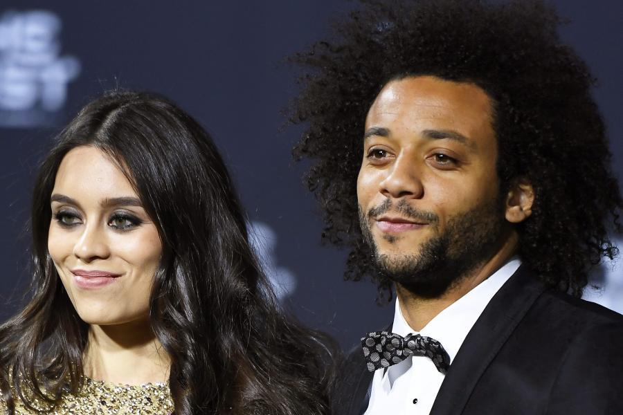 Marcelo i jego żona, Clarice Alves