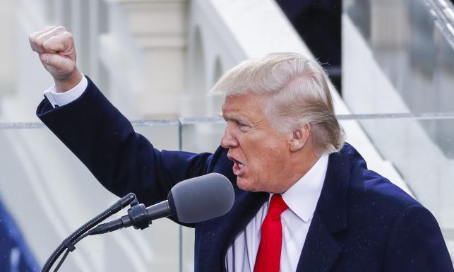 Donald Trump nowym prezydentem USA. Uroczystość w cieniu ulicznych protestów