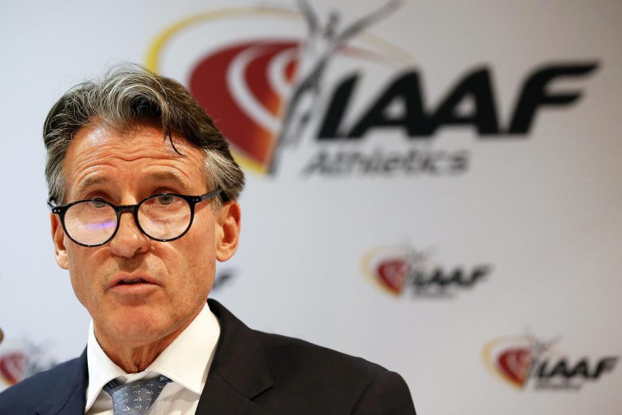 Szef IAAF, Sebastian Coe
