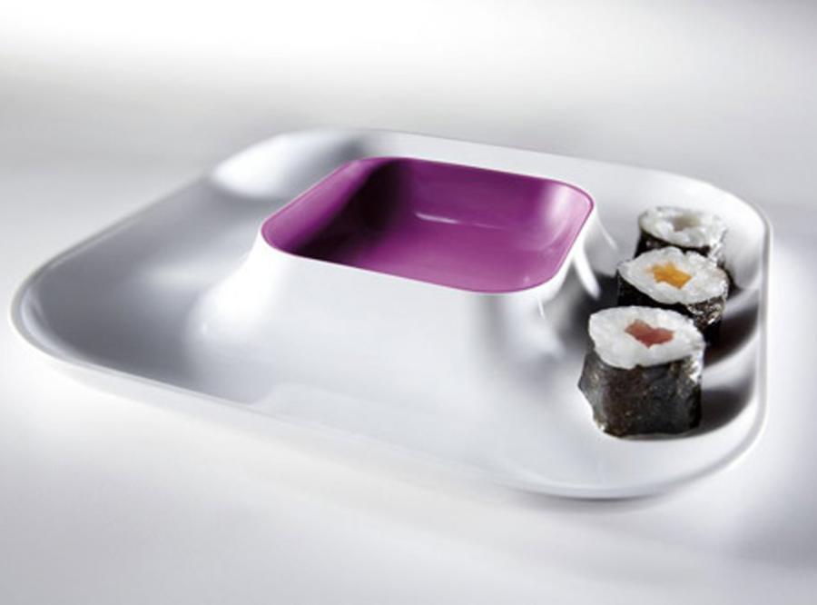 Sushi podane z pomysłem