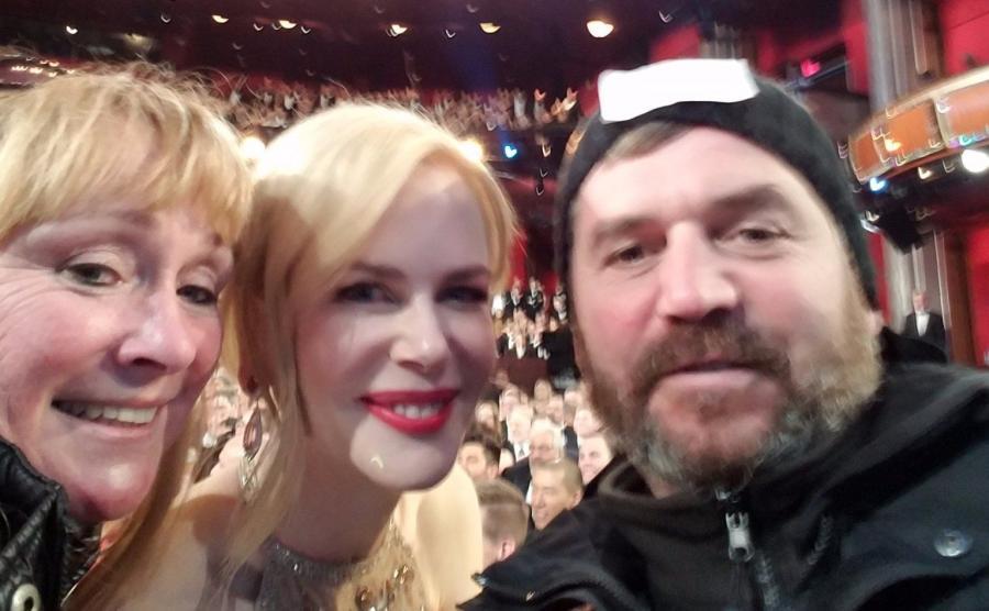 Nicole Kidman z turystami - zdjęcie zamieścił na swym twitterowym koncie Jimmy Kimmel