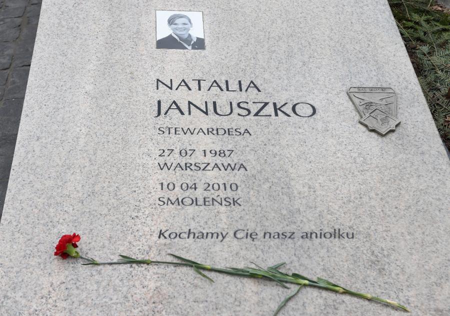 Grób Natalii Januszko