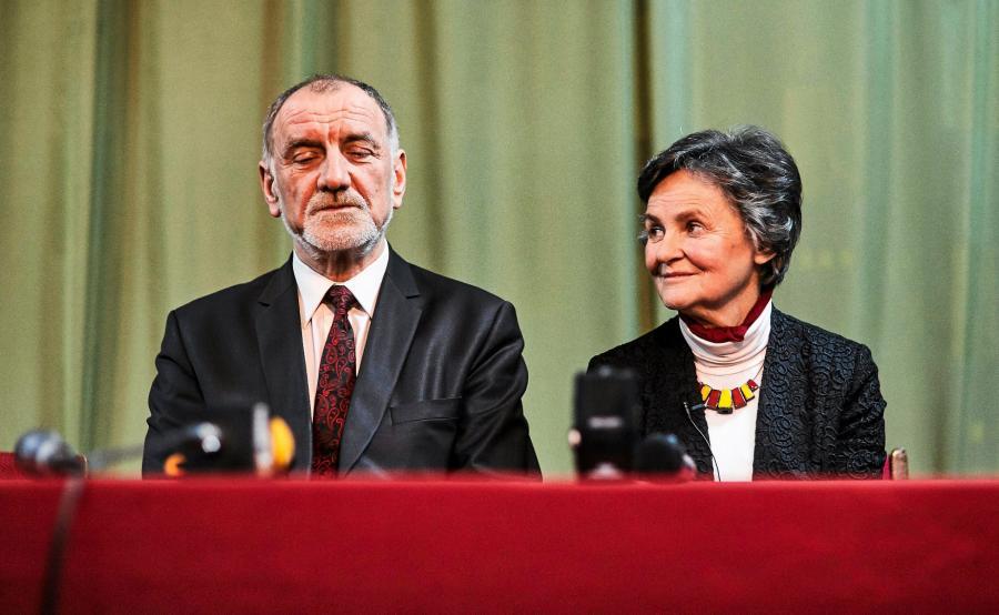 Rodzice prezydenta Andrzeja Dudy - Jan Tadeusz Duda i Janina Milewska-Duda