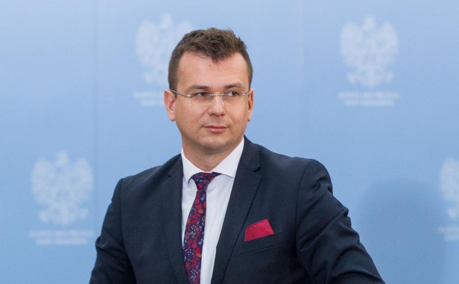 Wiceminister rozwoju Adam Hamryszczak